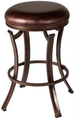 "Hillsdale Furniture Kelford Backless 26"" Swivel Counter Stool Textured"