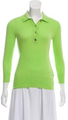Ralph Lauren Cashmere Collared Sweater