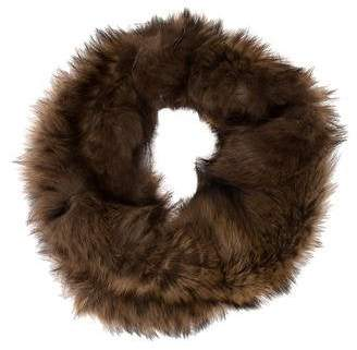 Knitted Fur Snood w/ Tags