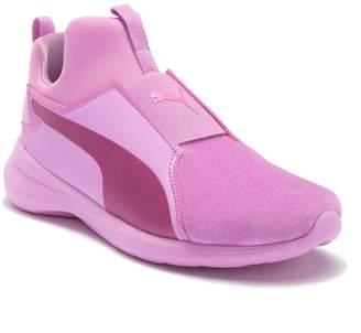 Puma Rebel Mid Athluxe Sneaker (Little Kid)
