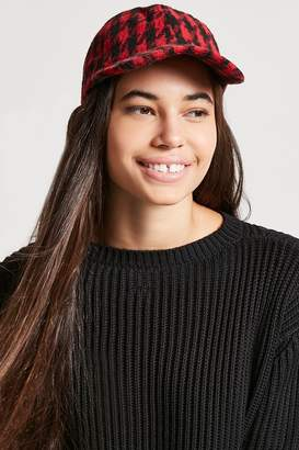 e3eae32181f at Forever 21 · Forever 21 Houndstooth Baseball Hat