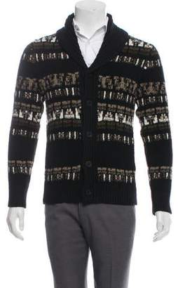 Vince Wool Shawl Collar Cardigan
