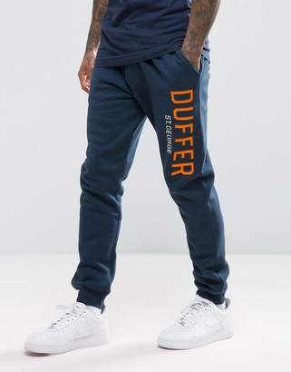 The DUFFER of ST. GEORGE Skinny Joggers In Navy