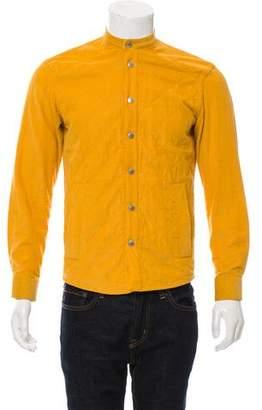 Umit Benan Quilted Corduroy Shirt