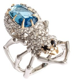 Women's Alexis Bittar Encrusted Spider Ring $245 thestylecure.com