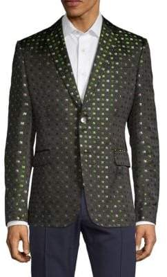 Valentino Printed Silk Sportcoat