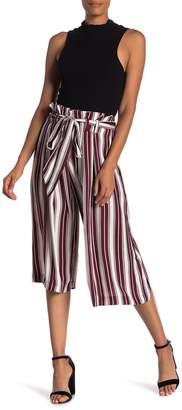 Style Rack Striped Culotte Pants
