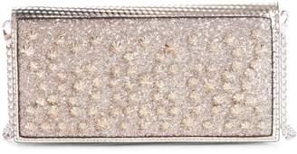 Christian Louboutin Boudoir Studded Wallet on a Chain