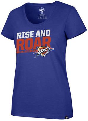 '47 Women's Oklahoma City Thunder Slogan Scoop T-Shirt