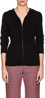 Barneys New York WOMEN'S CASHMERE ZIP-FRONT HOODED SWEATER