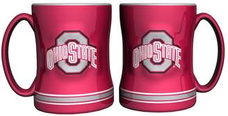 NCAA Kohl's Ohio State Buckeyes 2-pc. Relief Coffee Mug Set