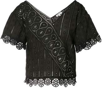 Opening Ceremony broderie anglaise blouse