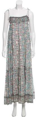 Ulla Johnson Floral Print Maxi Dress