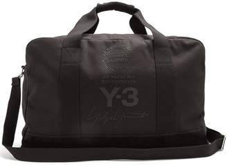Y-3 Canvas holdall