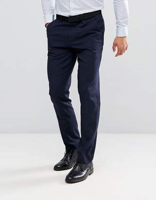 Asos DESIGN slim suit PANTS in navy