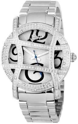 JBW Women's Olympia Diamond Bracelet Watch - 0.2 ctw