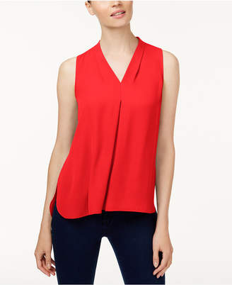 Vince Camuto Inverted-Pleat Blouse, Created for Macy's
