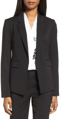 Women's Classiques Entier Long Suit Jacket $349 thestylecure.com