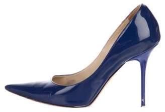 Jimmy Choo Patent Leather High Heel Pumps