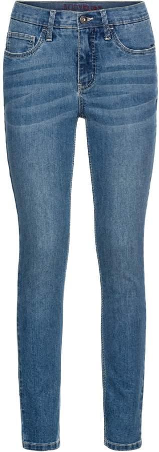 BODYFLIRT Skinny Jeans mit Stickerei
