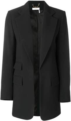 Chloé longline tailored jacket