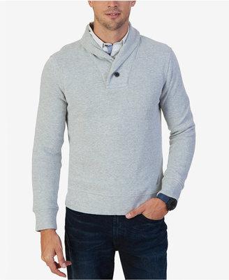Nautica Men's Shawl-Collar Sweater $79.50 thestylecure.com