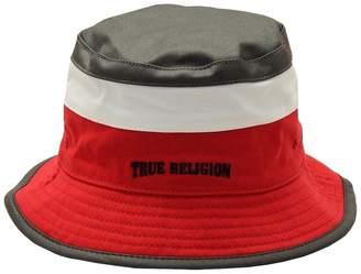 True Religion Men's Color Blocked Reversible Bucket Hat Sz: S/M