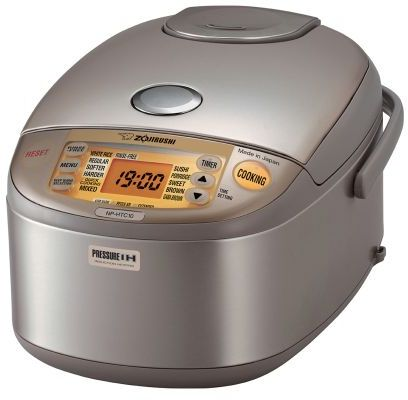 Zojirushi Induction Heating Pressure Rice Cooker and Warmer, 51⁄2 cup