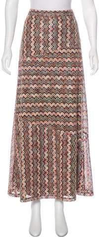 Trina Turk Knit Maxi Skirt