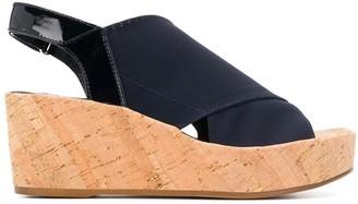 Högl slingback wedge sandals