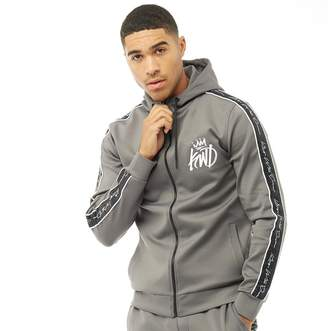 Kings Will Dream Mens Roxberry Poly Tape Hoodie Grey
