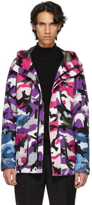 Valentino Multicolor Camou Shuffle Jacket