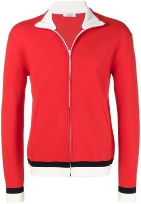 Valentino zipped sweatshirt