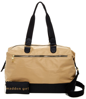 Madden Girl Nylon Weekend Duffle $68 thestylecure.com