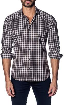 Jared Lang Plaid Slim Fit Shirt