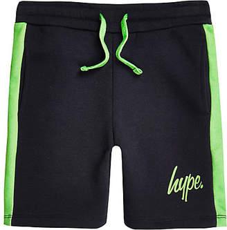 Hype Boys navy jersey shorts