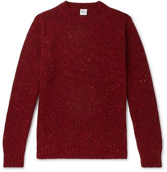 Aspesi Slim-Fit Donegal Wool Sweater