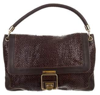 Anya Hindmarch Woven Leather Shoulder Bag