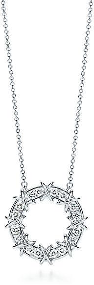 Tiffany & Co. Schlumberger®:Sixteen Stone Circle Pendant