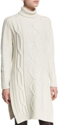 Derek Lam 10 Crosby Turtleneck Sweater Dress