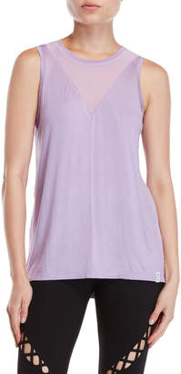 Andrew Marc Mesh Inset Performance Tank