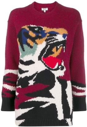 Kenzo oversized tiger sweater