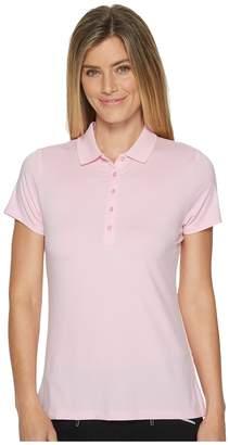 Callaway Opti-Dritm Micro-Hex Short Sleeve Polo Women's Short Sleeve Pullover