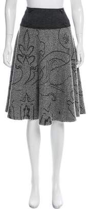 Etro Patterned Knee-Length Skirt