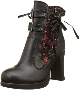 Demonia Women's Cryp51/brvl Ankle Bootie