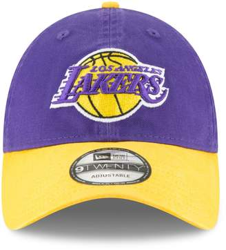 New Era 9Twenty Los Angeles Lakers Adjustable Baseball Cap