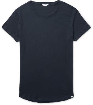 Orlebar Brown Ob-t Slim-fit Cotton-jersey T-shirt - Storm blue