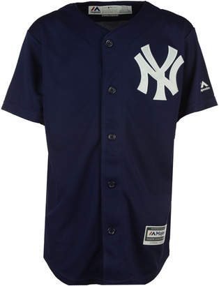 Majestic New York Yankees Blank Replica Jersey, Big Boys (8-20)