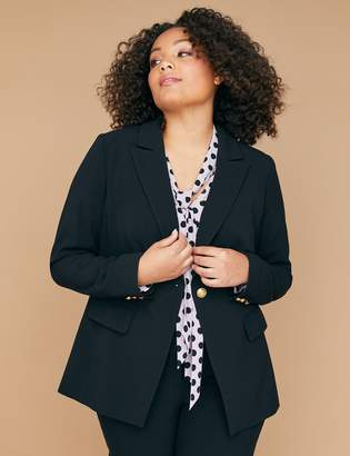 Lane Bryant Bryant Blazer - Tailored Stretch
