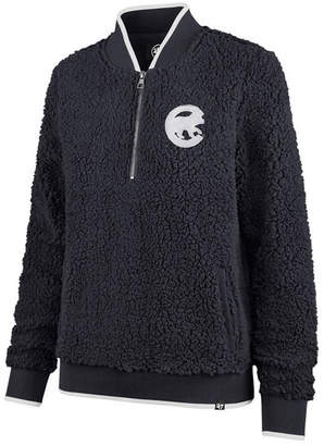 '47 Women's Chicago Cubs Sherpa Quarter-Zip Pullover
